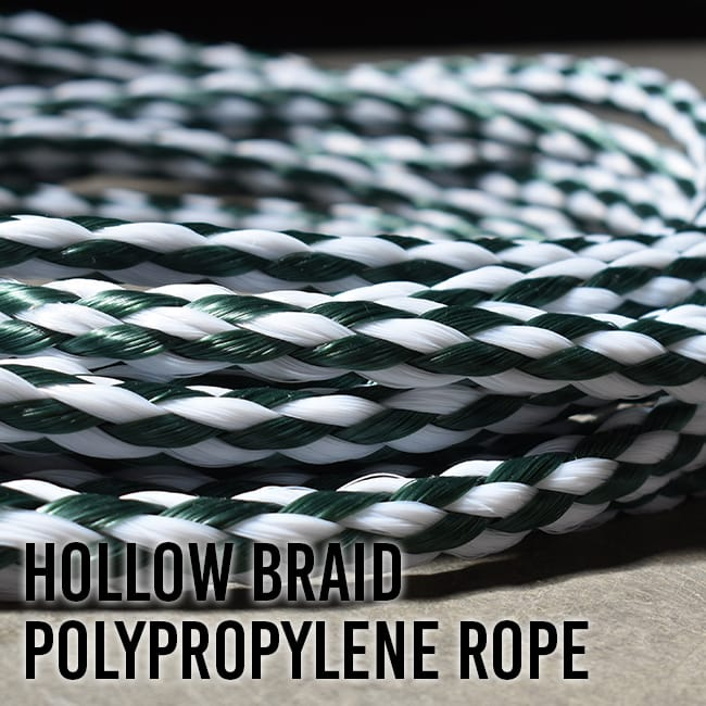 Hollow Braid Polypropylene Rope