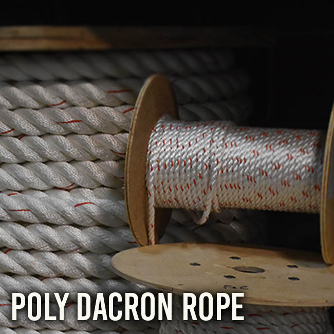 Poly Dacron Rope