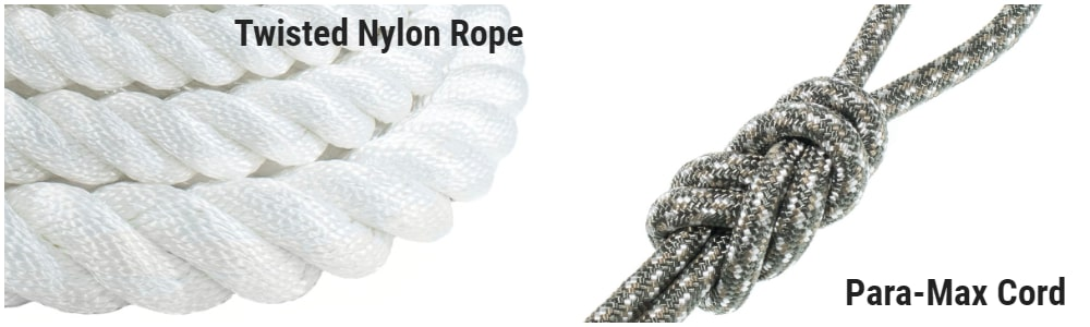 Twisted Nylon vs Para-Max