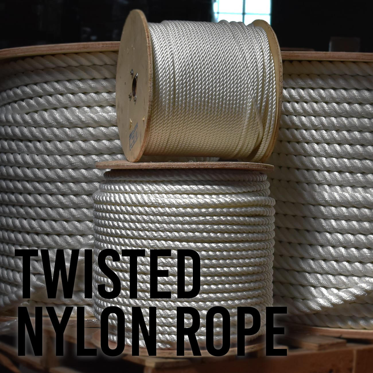 Twisted Nylon Rope