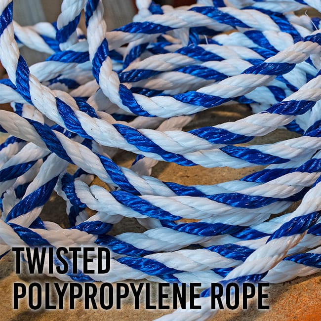 Twisted Poloypropylene Rope